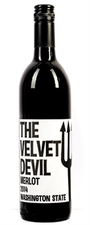 Charles Smith Merlot The Velvet Devil 2014 750ml